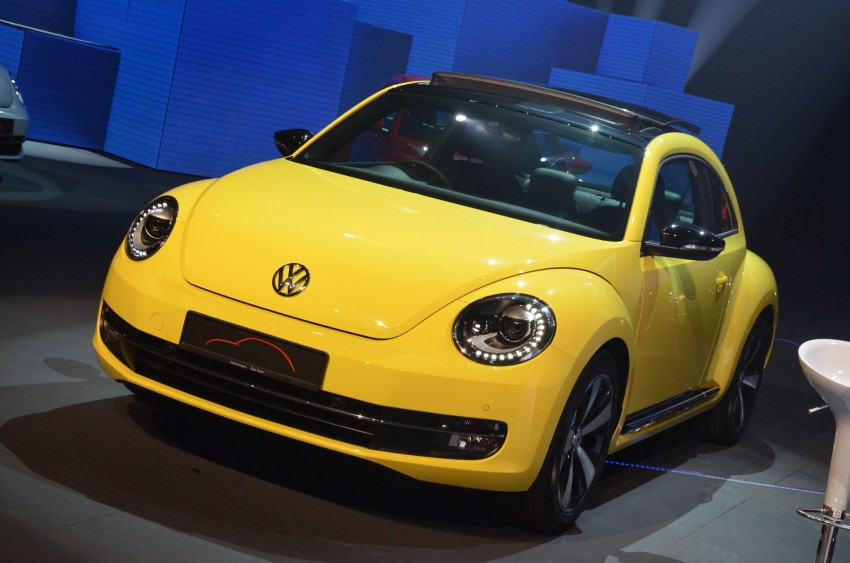 Volkswagen Beetle officially launched at Das Auto Show 2012 – 1.2 TSI with DSG, RM139,888 Image #129747