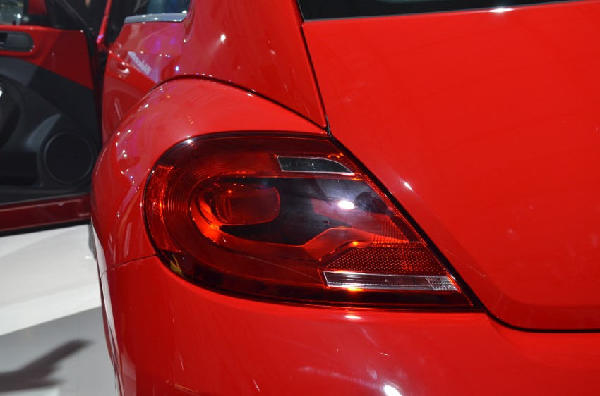 Volkswagen Beetle officially launched at Das Auto Show 2012 – 1.2 TSI with DSG, RM139,888 Image #129824