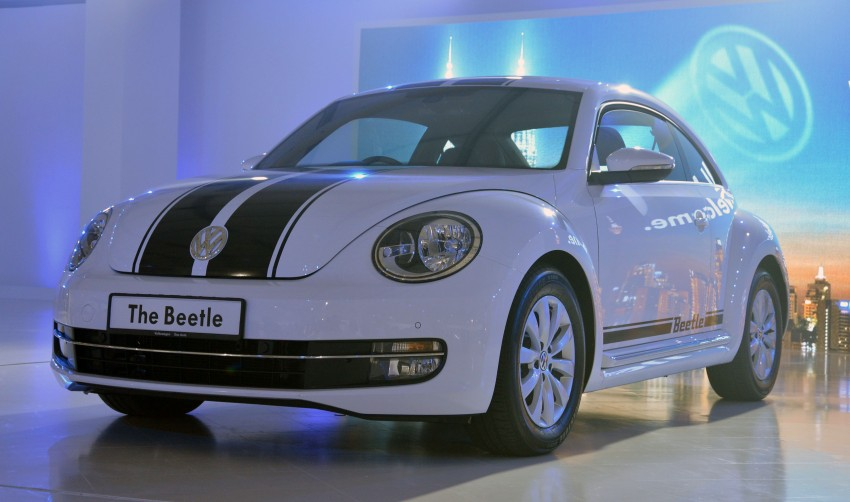 Volkswagen Beetle officially launched at Das Auto Show 2012 – 1.2 TSI with DSG, RM139,888 Image #129819