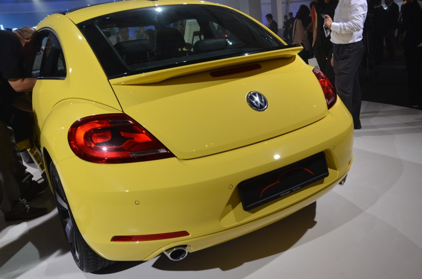 Volkswagen Beetle officially launched at Das Auto Show 2012 – 1.2 TSI with DSG, RM139,888 Image #129822