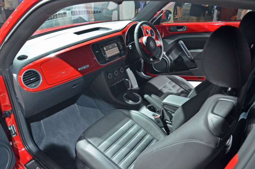 Volkswagen Beetle officially launched at Das Auto Show 2012 – 1.2 TSI with DSG, RM139,888 Image #129756
