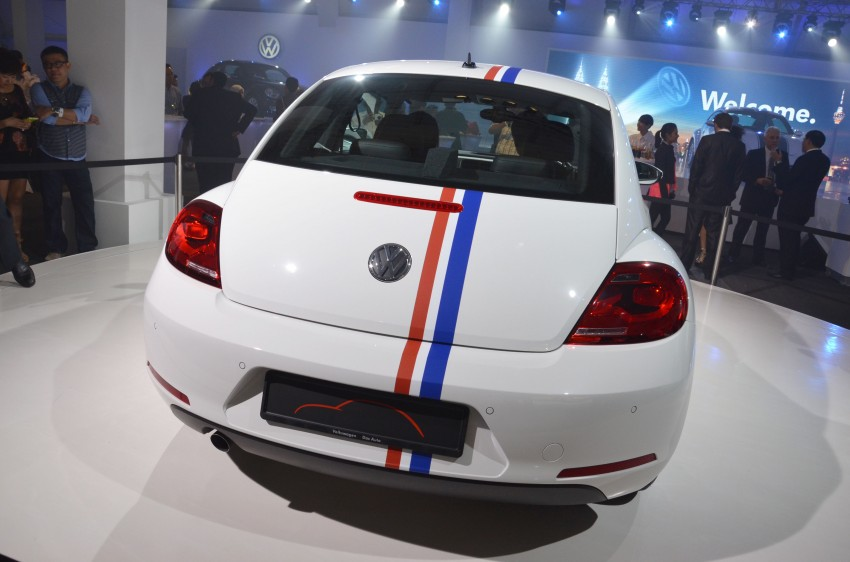 Volkswagen Beetle officially launched at Das Auto Show 2012 – 1.2 TSI with DSG, RM139,888 Image #129816