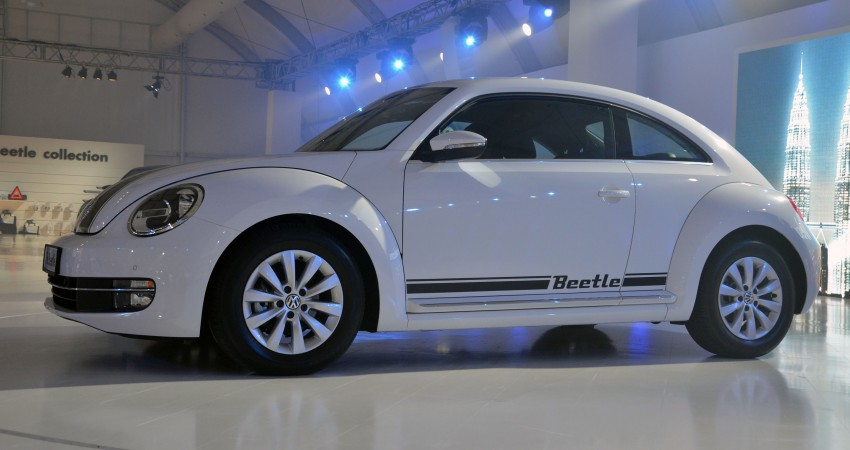 Volkswagen Beetle officially launched at Das Auto Show 2012 – 1.2 TSI with DSG, RM139,888 Image #129796