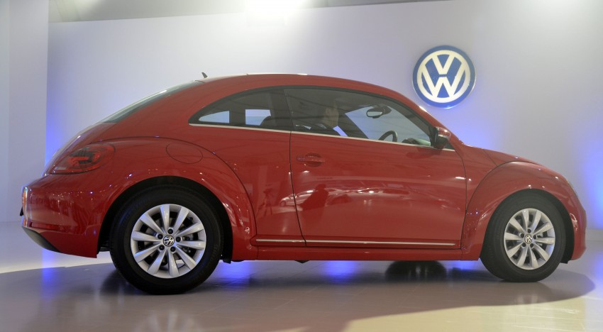 Volkswagen Beetle officially launched at Das Auto Show 2012 – 1.2 TSI with DSG, RM139,888 Image #129797