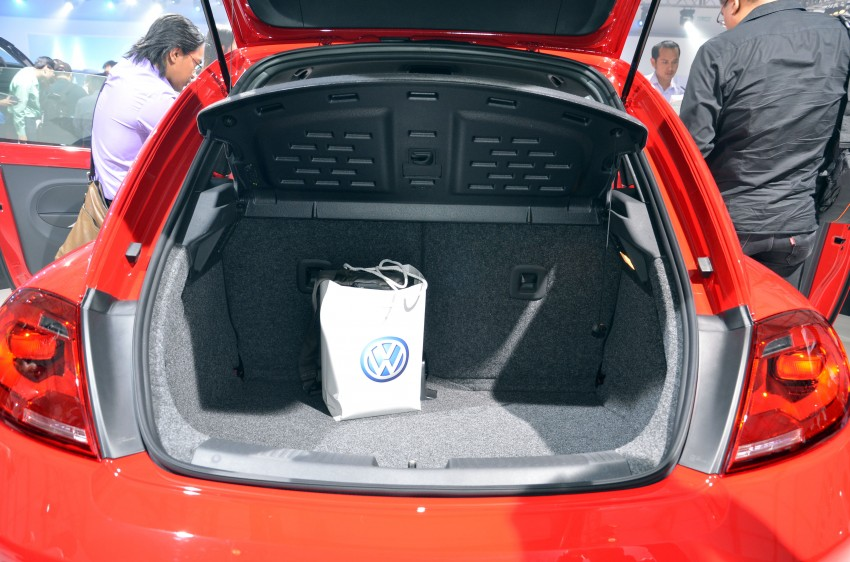Volkswagen Beetle officially launched at Das Auto Show 2012 – 1.2 TSI with DSG, RM139,888 Image #129800