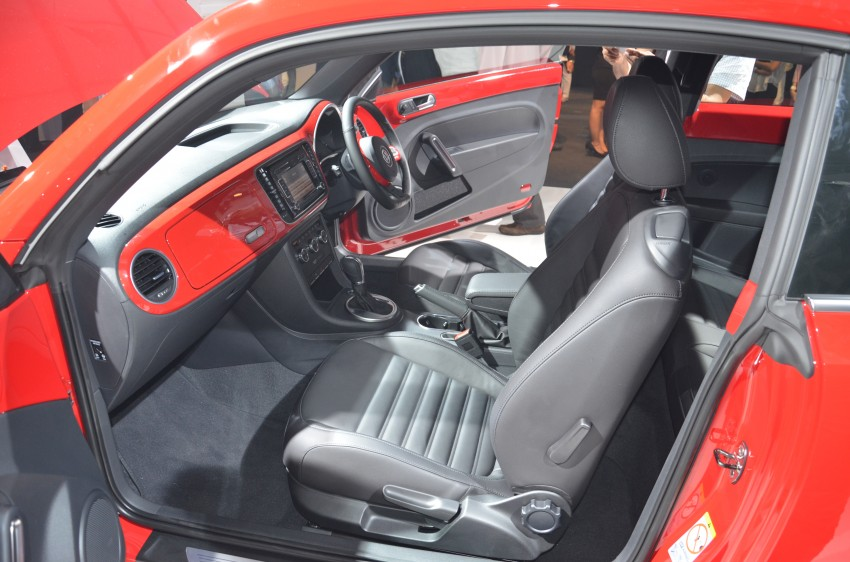 Volkswagen Beetle officially launched at Das Auto Show 2012 – 1.2 TSI with DSG, RM139,888 Image #129811