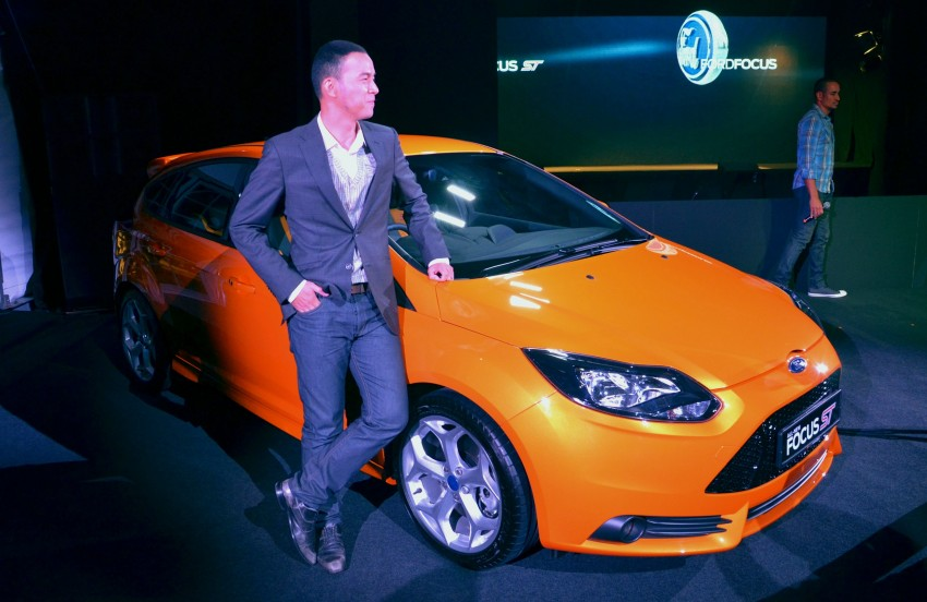 Ford Focus ST – the GTI challenger arrives, RM209k Image #131218
