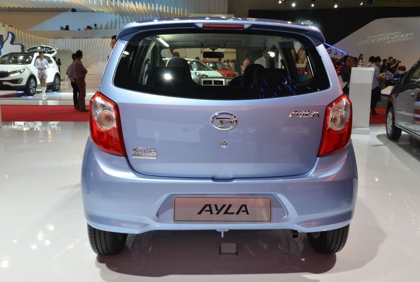 Daihatsu Ayla 1.0L eco-car launched in Indonesia Image #132195