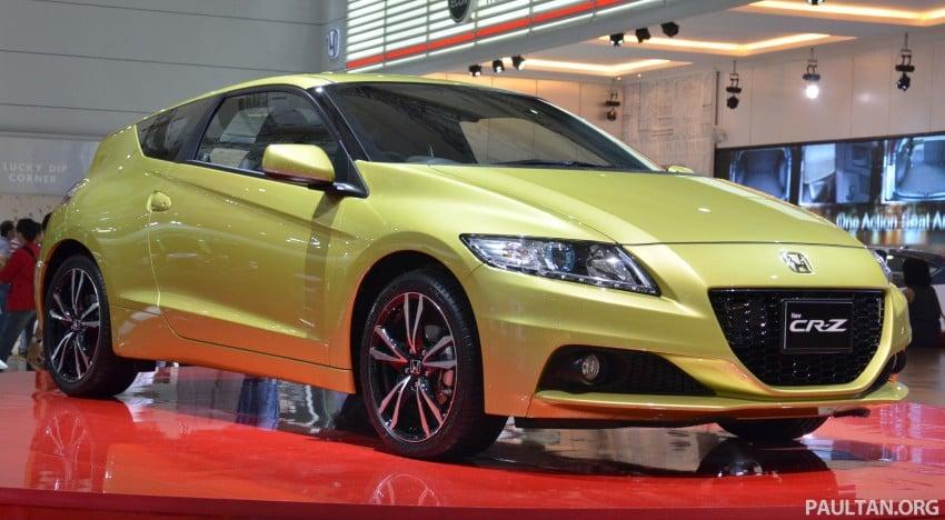 Honda CR-Z facelift makes world debut in Indonesia Image #132240