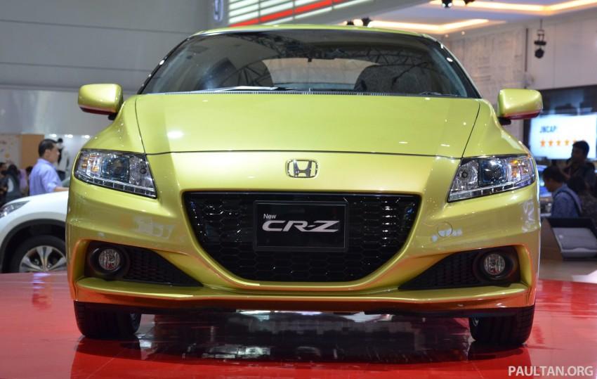 Honda CR-Z facelift makes world debut in Indonesia Image #132241