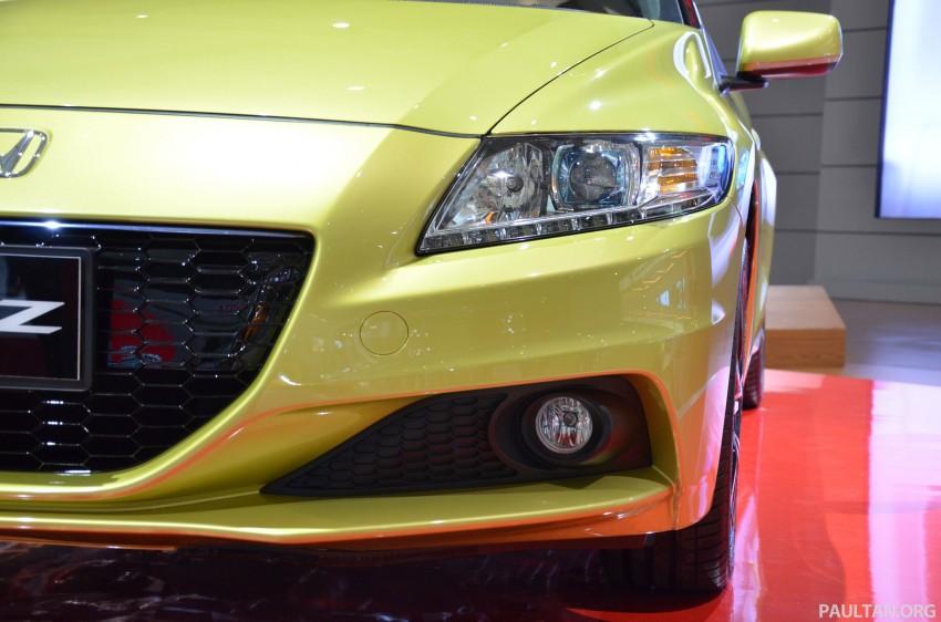 Honda CR-Z facelift makes world debut in Indonesia Image #132242