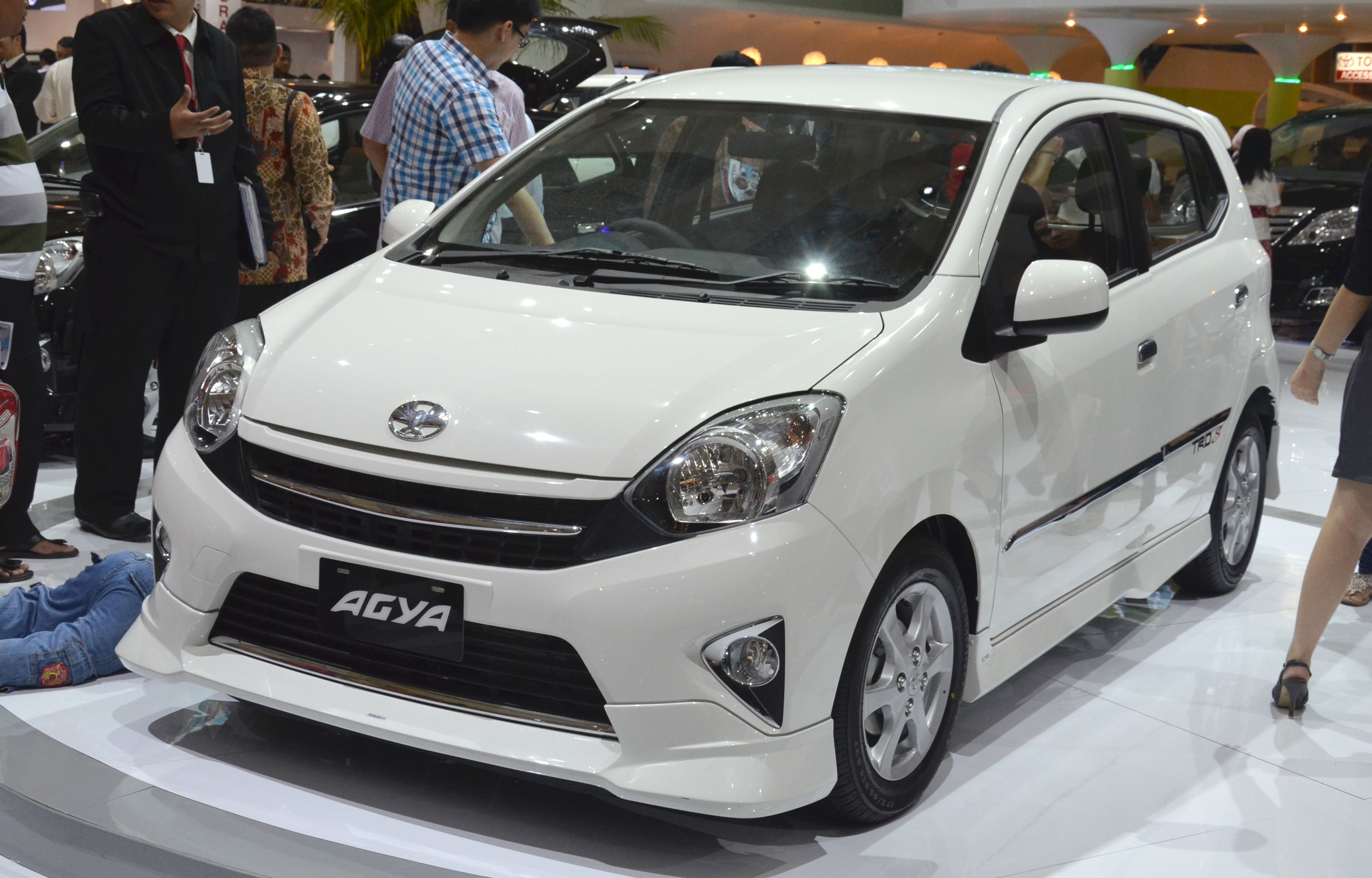 Toyota Agya Makes It A Double Debut At IIMS