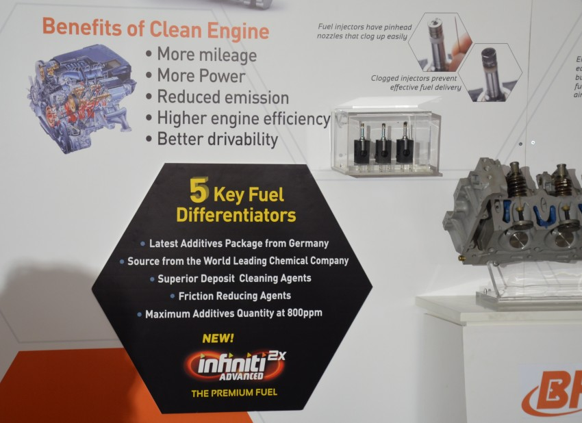 BHPetrol launches new Infiniti Advanced 2x petrol – Euro 3 fuel with the latest German additive package Image #136403