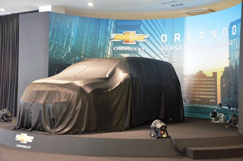 Chevrolet Orlando officially launched – RM118,888 Image #145763