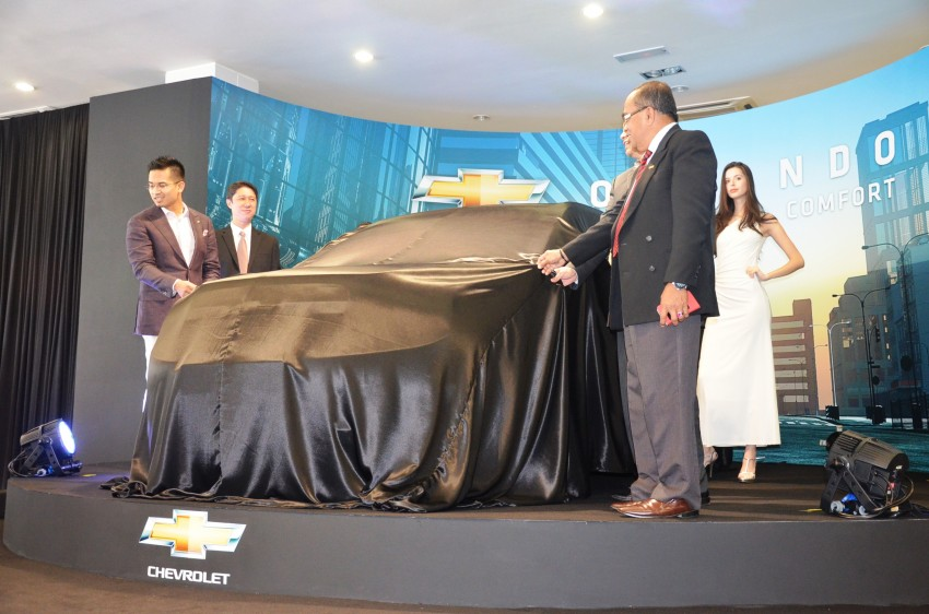 Chevrolet Orlando officially launched – RM118,888 Image #145765