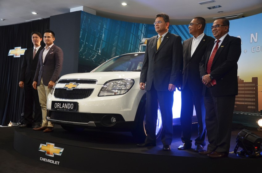 Chevrolet Orlando officially launched – RM118,888 Image #145766