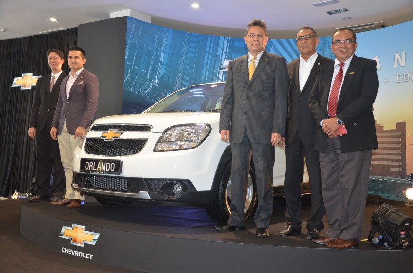 Chevrolet Orlando officially launched – RM118,888 Image #145767