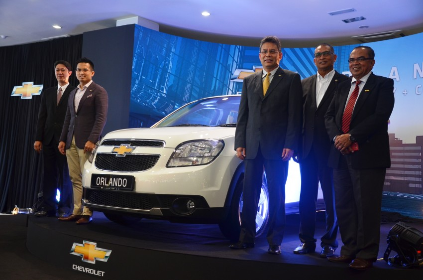 Chevrolet Orlando officially launched – RM118,888 Image #145768