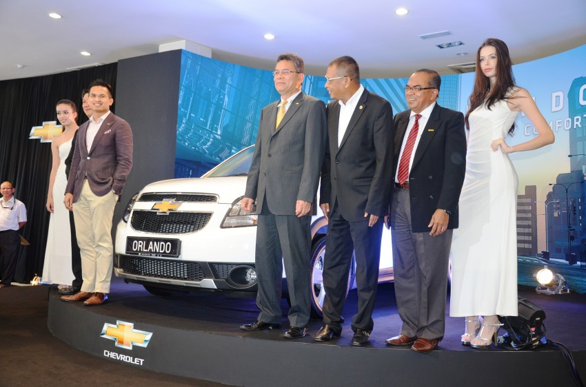 Chevrolet Orlando officially launched – RM118,888 Image #145769