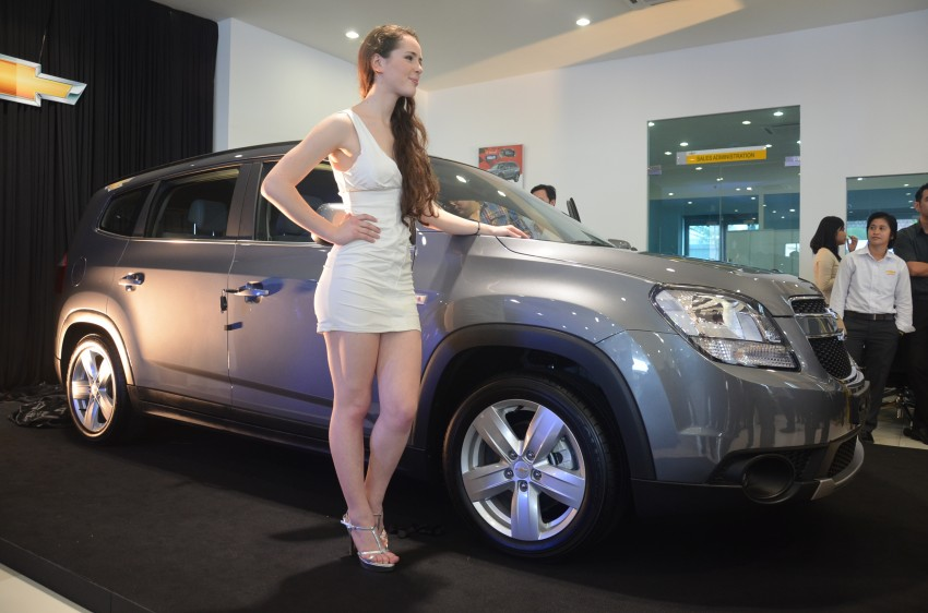 Chevrolet Orlando officially launched – RM118,888 Image #145771