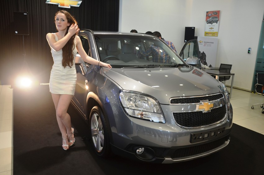Chevrolet Orlando officially launched – RM118,888 Image #145773