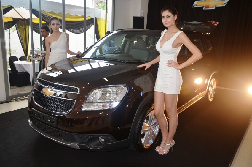 Chevrolet Orlando officially launched – RM118,888 Image #145775