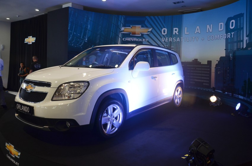 Chevrolet Orlando officially launched – RM118,888 Image #145778