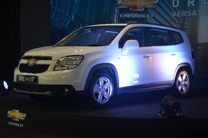 Chevrolet Orlando officially launched – RM118,888 Image #145783