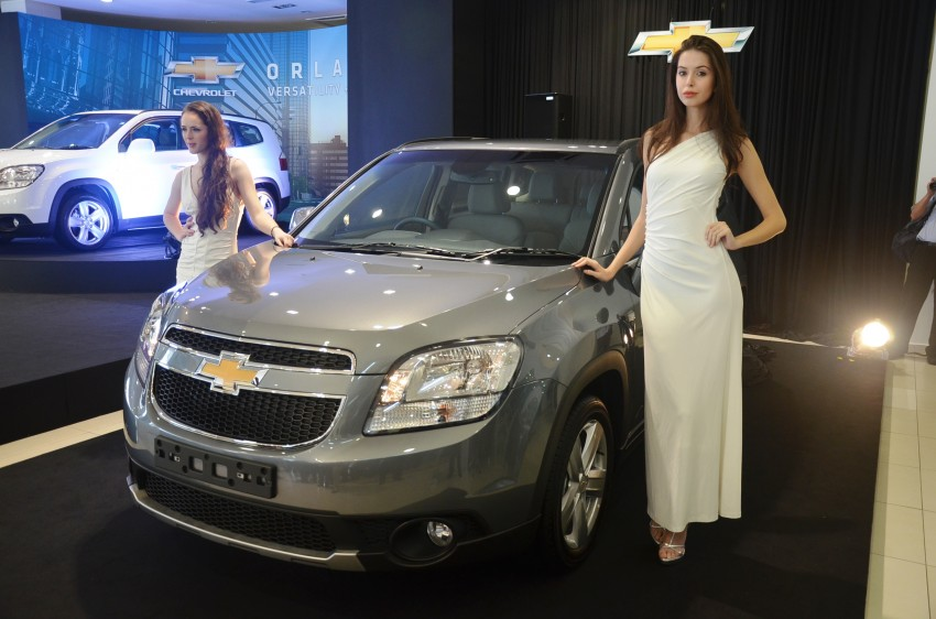 Chevrolet Orlando officially launched – RM118,888 Image #145784