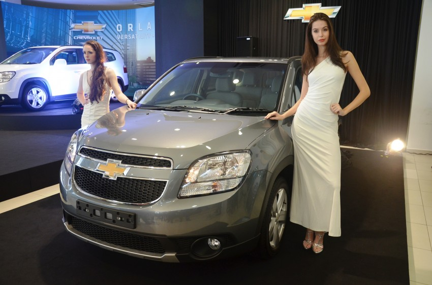 Chevrolet Orlando officially launched – RM118,888 Image #145785