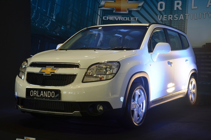 Chevrolet Orlando officially launched – RM118,888 Image #145787