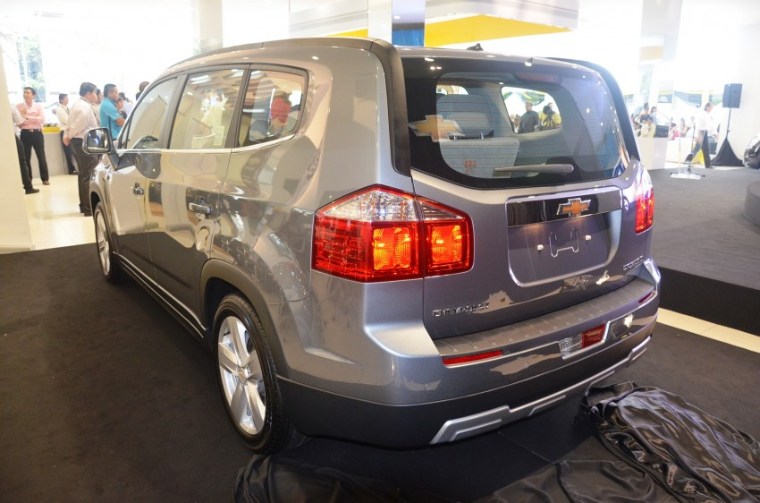 Chevrolet Orlando officially launched – RM118,888 Image #145788