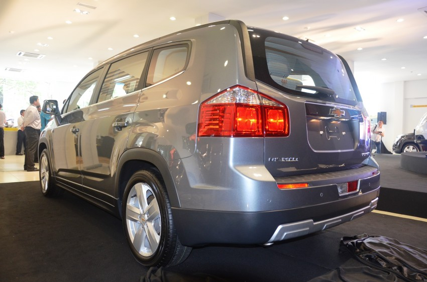 Chevrolet Orlando officially launched – RM118,888 Image #145789
