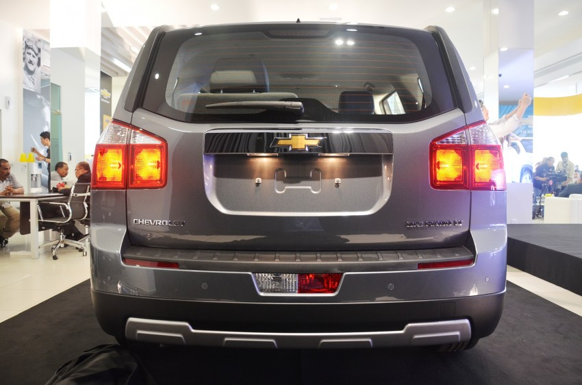 Chevrolet Orlando officially launched – RM118,888 Image #145790