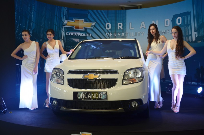 Chevrolet Orlando officially launched – RM118,888 Image #145795