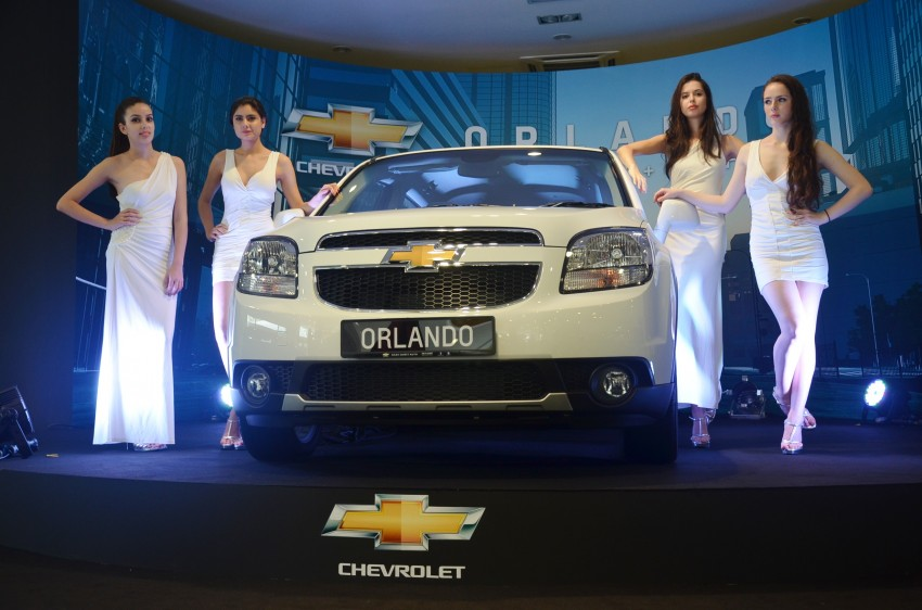 Chevrolet Orlando officially launched – RM118,888 Image #145796