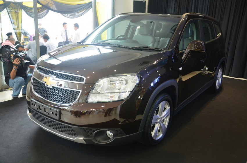 Chevrolet Orlando officially launched – RM118,888 Image #145797