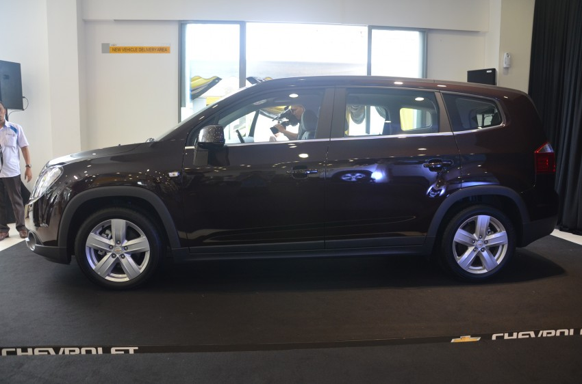 Chevrolet Orlando officially launched – RM118,888 Image #145798