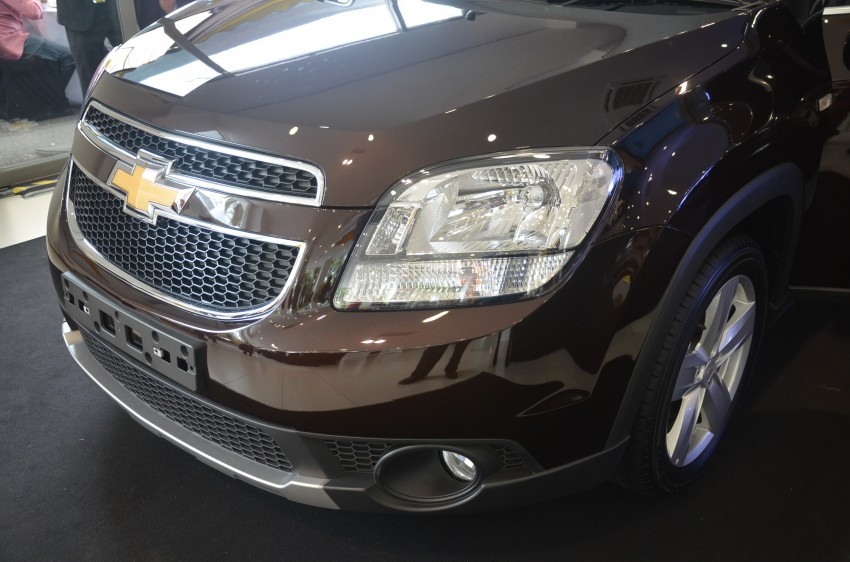 Chevrolet Orlando officially launched – RM118,888 Image #145800