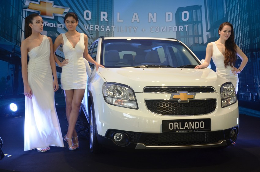 Chevrolet Orlando officially launched – RM118,888 Image #145801