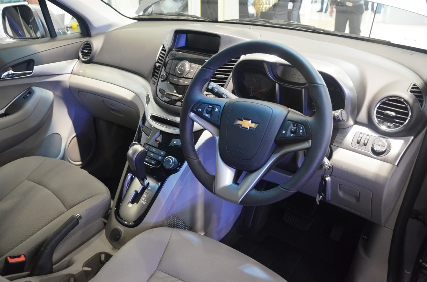 Chevrolet Orlando officially launched – RM118,888 Image #145805