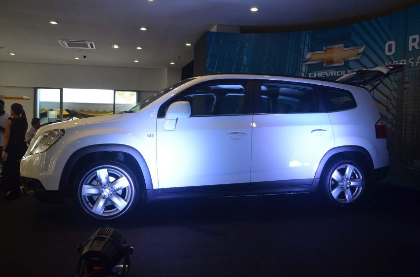 Chevrolet Orlando officially launched – RM118,888 Image #145809