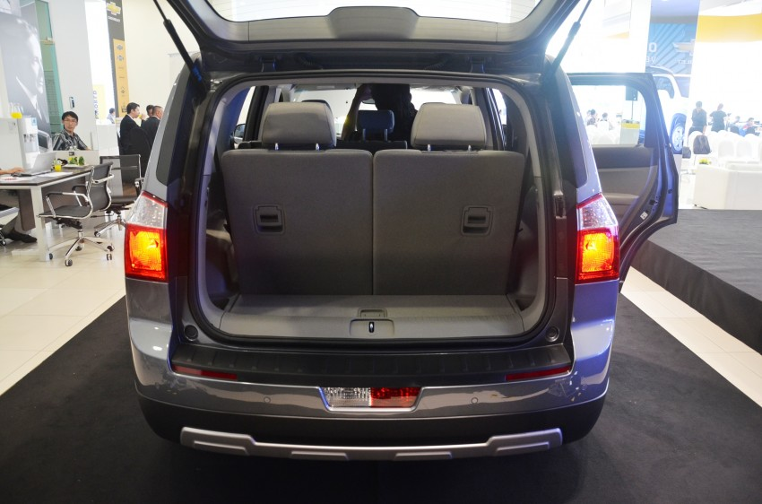 Chevrolet Orlando officially launched – RM118,888 Image #145810