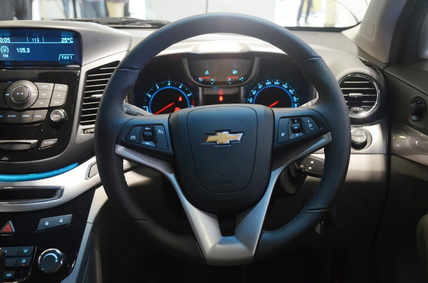 Chevrolet Orlando officially launched – RM118,888 Image #145812