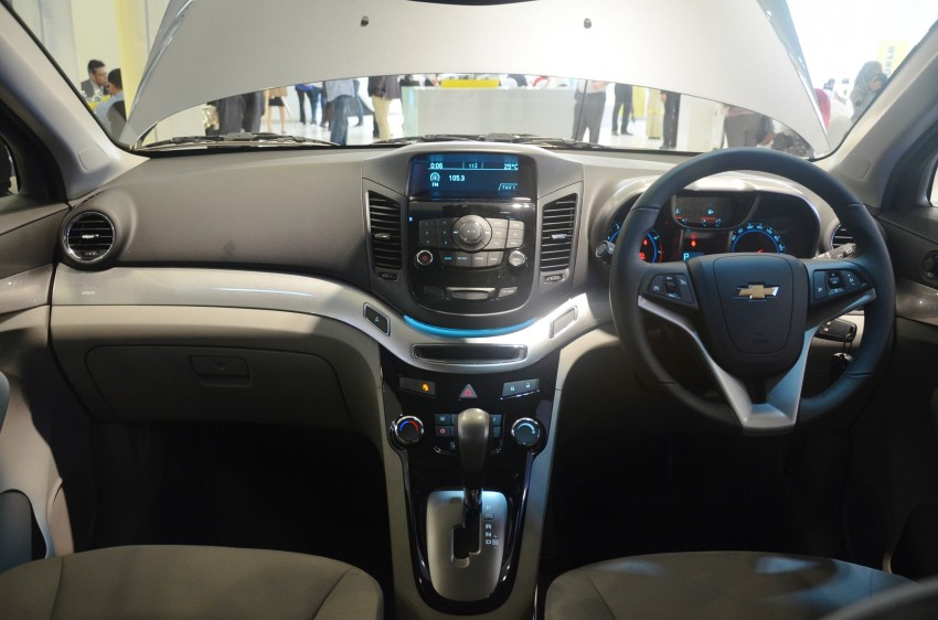 Chevrolet Orlando officially launched – RM118,888 Image #145815