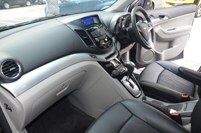 Chevrolet Orlando officially launched – RM118,888 Image #145817