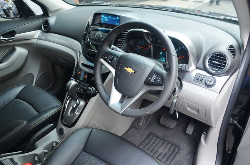 Chevrolet Orlando officially launched – RM118,888 Image #145819