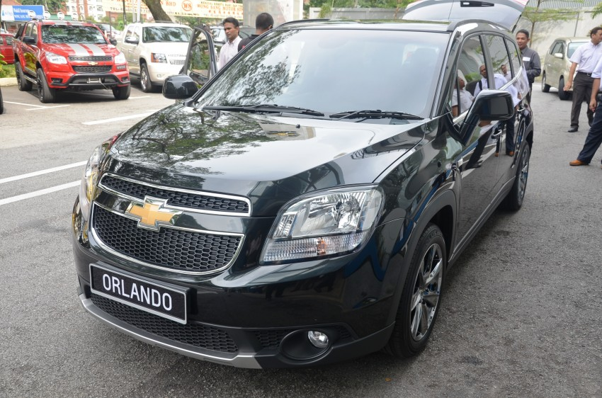 Chevrolet Orlando officially launched – RM118,888 Image #145823
