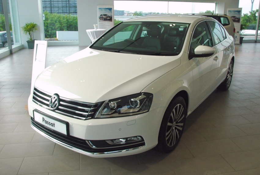 Volkswagen Passat 1.8 TSI – first drive impressions Image #75616