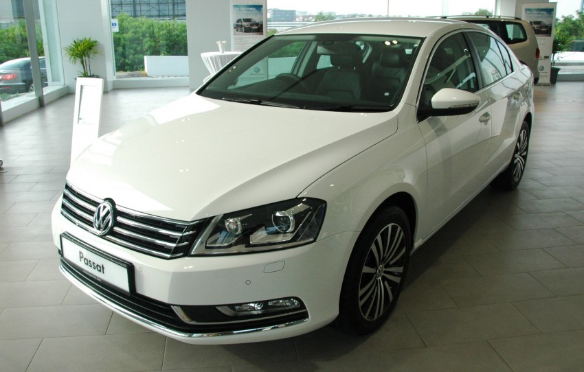 Volkswagen Jetta, Passat and Cross Touran launched – RM150k, RM185k and RM167k respectively, all CBU Image #73554
